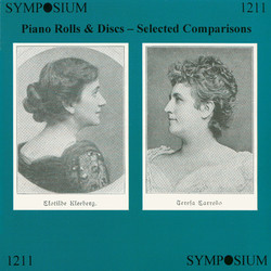 Piano Rolls and Discs, Selected Comparisons (1927)