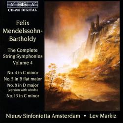 Mendelssohn - The Complete String Symphonies, Vol.4
