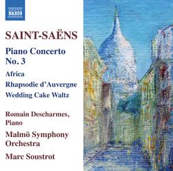 Saint-Saëns: Piano Concertos, Vol. 2