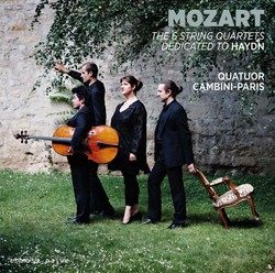 Mozart: The 6 String Quartets Dedicated to Haydn