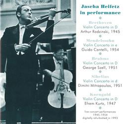 Jascha Heifetz in Performance (1945-1954)