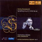 Shostakovich, D.: Symphony No. 4 (K. Kondrashin) (Staatskapelle Dresden Edition, Vol. 8)