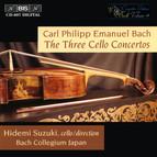C.P.E. Bach - The Three Cello Concertos