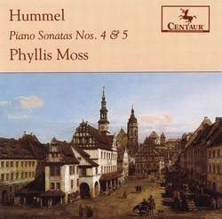 Hummel, J.N.: Piano Sonatas Nos. 4 and 5