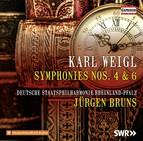 Weigl: Symphonies Nos. 4 & 6