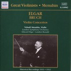 Elgar / Bruch: Violin Concertos (Menuhin) (1931-1932)