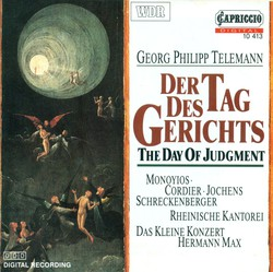 Telemann, G.P.: Tag Des Gerichts (Der)