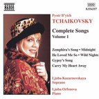 Tchaikovsky: Songs (Complete), Vol.  1