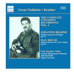 Bruch / Brahms: Violin Concertos (Kreisler) (1925, 1936)