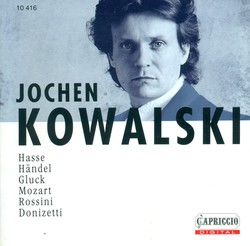 Opera Arias (Counter-Tenor): Kowalski, Jochen -