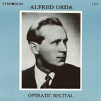 Operatic Recital: Alfred Orda (1963-1977)