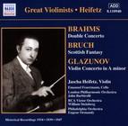 Brahms / Glazunov: Violin Concertos (Heifetz) (1934, 1939)