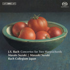 Bach – Concertos for Two Harpsichords