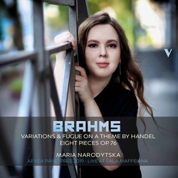 Brahms: 25 Variations & Fugue on a Theme by Handel, Op. 24 & 8 Piano Pieces, Op. 76 (Live)