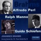 Brahms, J.: Clarinet Quintet / Piano Quintet