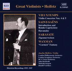 Vieuxtemps: Violin Concertos Nos. 4 and 5 (Heifetz) (1935-1947)