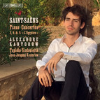 Saint-Saëns – Piano Concertos Nos 3-5