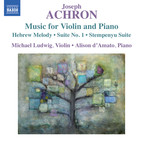 Achron: Music for Violin and Piano