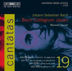 J.S. Bach - Cantatas, Vol.19 (BWV 86, 37, 104, 166)