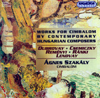 Works for Cimbalom By Contemporary Hungarian Composers