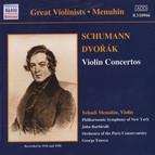 Dvorak / Schumann: Violin Concertos (Menuhin) (1936, 1938)