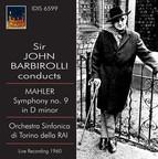 Sir John Barbirolli Conducts Mahler Symphony No. 9 (1960)