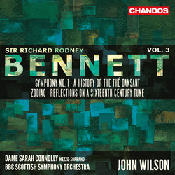 Bennett: Orchestral Works, Vol. 3