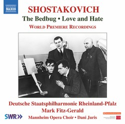 Shostakovich: The Bedbug Suite, Op. 19a & Love and Hate, Op. 38