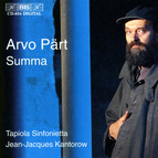 Arvo Pärt played by Tapiola Sinfonietta