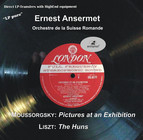 Mussorgsky: Pictures at an Exhibition - Liszt: Hunnenschlacht, S. 105