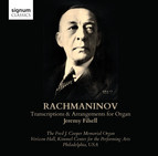 Rachmaninov: Organ Transcriptions and Arrangements by Jeremy Filsell