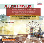Ginastera: Obertura para el Fausto Criollo, Op. 9, Variaciones Concertantes, Op. 23, Ollantay, Op. 17 & Bomarzo Suite, Op. 34a