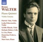 Walter: Piano Quintet & Violin Sonata