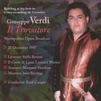 Verdi: Il trovatore (Metropolitan Opera Broadcast)