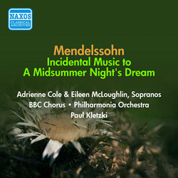 Mendelssohn, F: Midsummer Night\'s Dream (A) (Excerpts) (Kletzki) (1954)