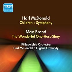 Mcdonald, H.: Children\'s Symphony / Brand, M.: The Wonderful One-Hoss-Shay (Harl Mcdonald, Ormandy) (1950)