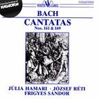 Bach: Cantatas Nos. 161 and 169