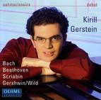 Piano Recital: Gerstein, Kirill - Bach, J.S. / Beethoven, L. Van / Scriabin, A. / Wild, E.