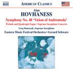 Hovhaness: Works for Orchestra & Soprano Saxophone