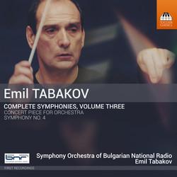 Emil Tabakov: Complete Symphonies, Vol. 3