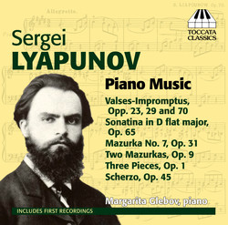 Lyapunov: Piano Music