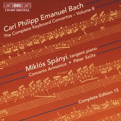 C.P.E. Bach - Keyboard Concertos, Vol. 8