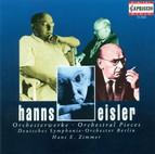 Eisler, H.: Kleine Sinfonie / 5 Orchestral Pieces / Sturm-Suite / Kammersinfonie