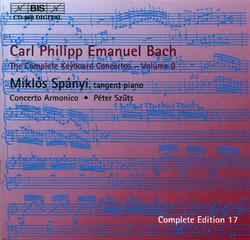 C.P.E. Bach - Keyboard Concertos, Vol. 9