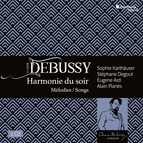 Debussy: Harmonie du soir, mélodies & songs