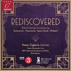 Rediscovered: British Clarinet Concertos by Dolmetsch, Maconchy, Spain-dunk & Wishart