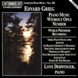 Grieg - Piano Music Without Opus Number
