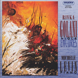 Viola Recital: Golani, Rivka – Brahms, J. / Kreisler, F. / Heuberger, R. / Gaertner, E. / Paganini, N. / Gluck, C.W. / Rachmaninov, S. (Encores)