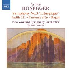 Honegger: Symphony No. 3, 'Liturgique' / Pacific 231 / Rugby