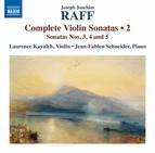 Raff: Complete Violin Sonatas, Vol. 2